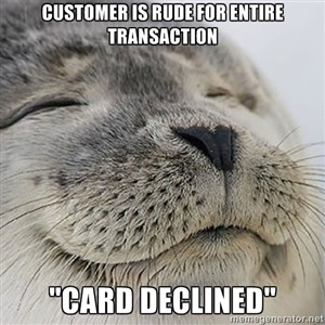 Fellow retail workers can relate