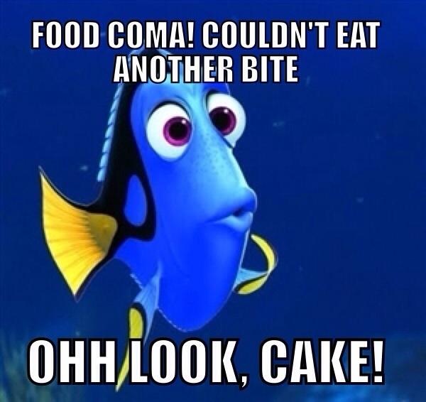 Food Coma Meme Guy