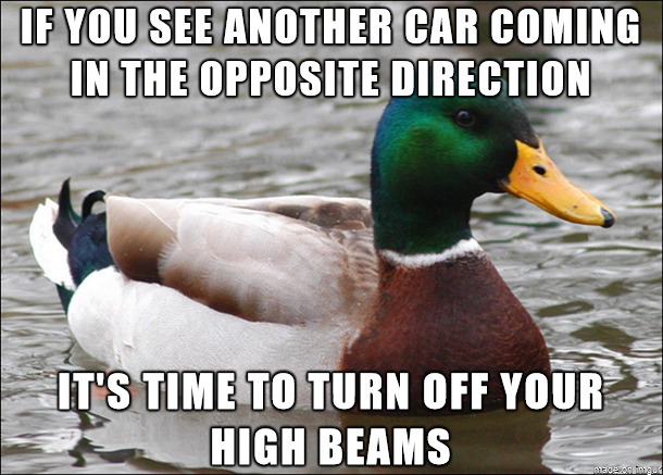 For those that may not be used to driving on rural roads