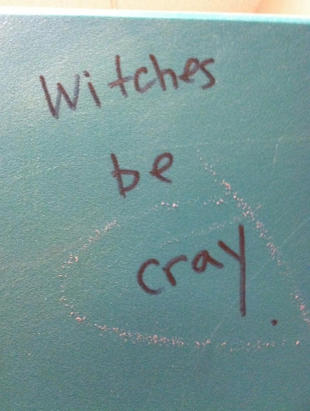 Found This On A Bathroom Stall In Salem Massachusetts