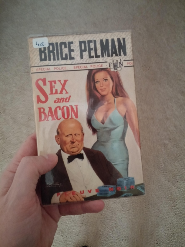 Found this pulp novel in Paris It has the best title ever Period