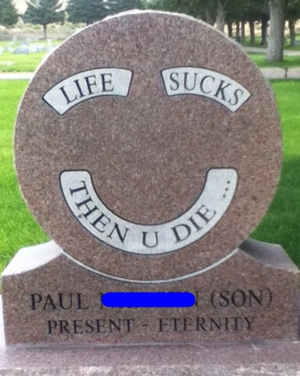 found this tombstone at a cemetery in salt lake city ut 63878 found this tombstone at a cemetery in salt lake city ut meme guy