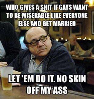 Homosexual marriage meme pics