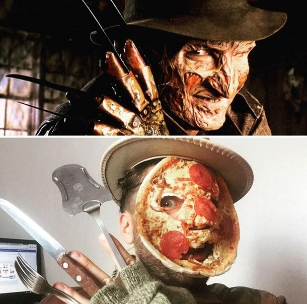 Freddy Cosplay The Nightmare in the Kitchen - Meme Guy