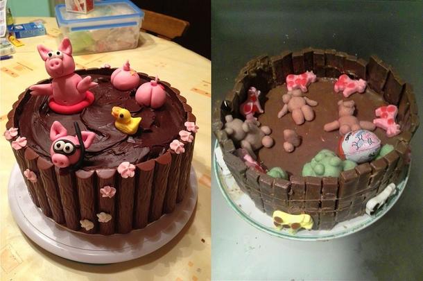 Skinny Girl Chocolate Cake