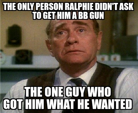 Good guy dad from A Christmas Story Dont underestimate dad Dad can deliver  - Meme Guy