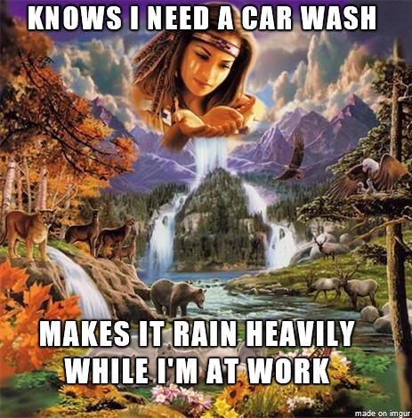 Good Guy Mother Nature - Meme Guy