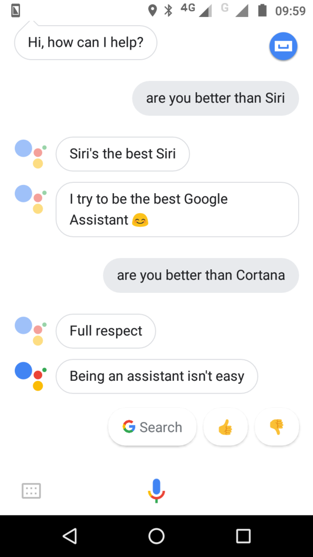 Google Assistant vs Siri amp Cortana