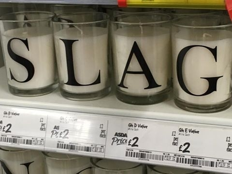 Got burnt whilst looking in the candle aisle