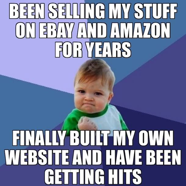 Got Sick Of Paying High Ebay Fees Built This With The Help Of My Wife Meme Guy