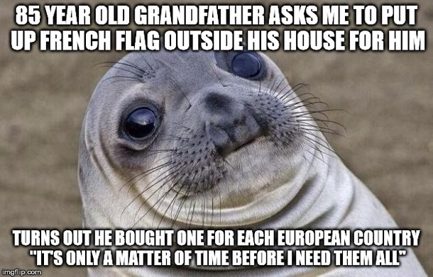 Grandfather was proactive after Charlie Hebdo shooting