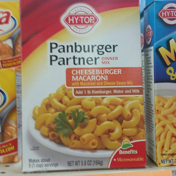 Hamburger Helpers lesser known cousin