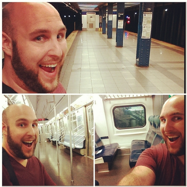 Hanging Out With All Of My Friends On My Commute Home Meme Guy