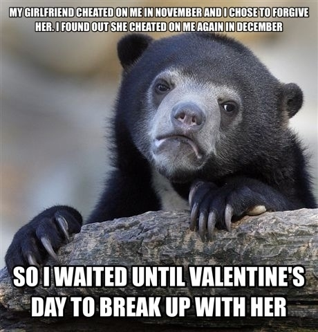 Happy Valentines Day I Dont Even Feel Bad
