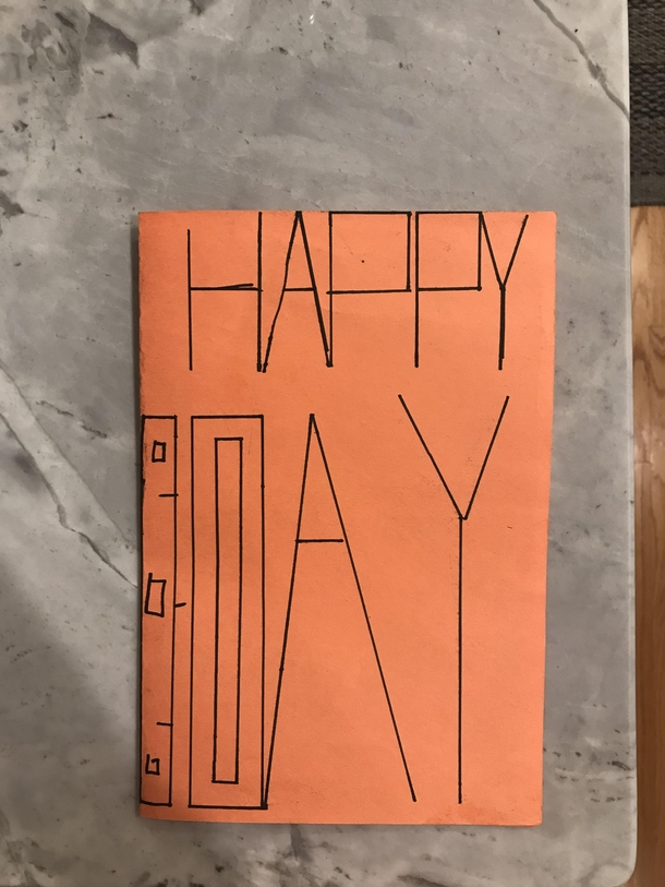 Homemade Birthday Card From My Year Old Is That A B Meme Guy