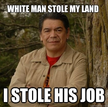 Native American Working in