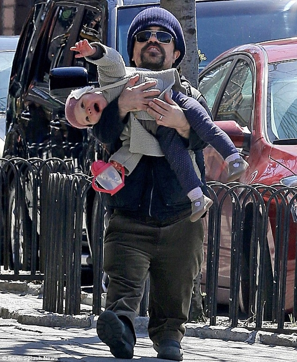 How Peter Dinklage holds his kids - Meme Guy