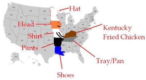How To Find The Kentucky On A Us Map Meme Guy - Kentucky-on-us-map