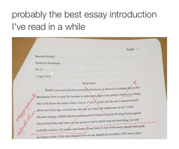 essay paper on rosa parks Research paper: rosa parks 1126 words | 5 pages i surely do not know the author's thesis on civil rights, i just understand that he knows rosa park's thesis and.