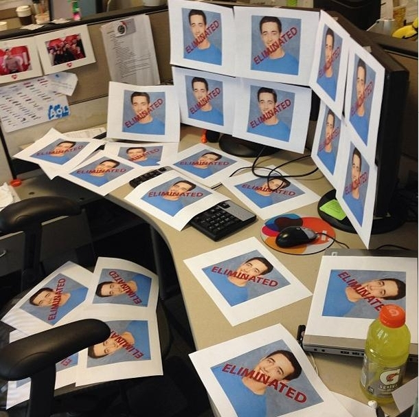 How to prank your co-worker who was once on the Bachelorette - Meme Guy