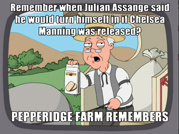 I could have sworn Julian Assange said this