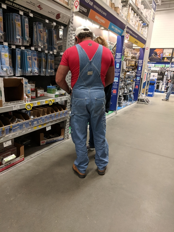 I found a Super Mario lookalike in the plumbing department at Lowes ...