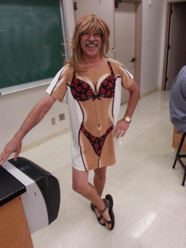 I give you all my chemistry teacher
