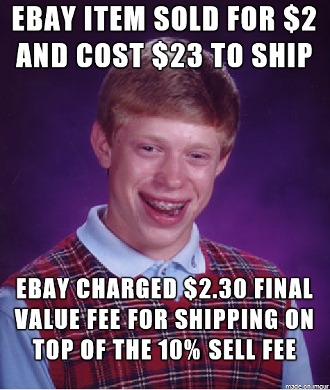 I Just Made Negative Cents Selling On Ebay Meme Guy