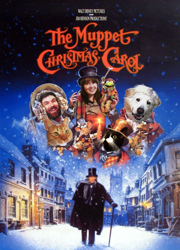 I Photoshop Christmas Movie Posters for Our Christmas Card and This ...
