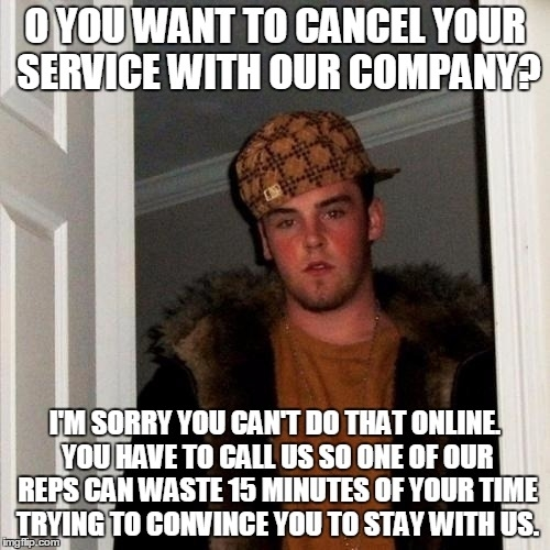 I really hate it when companies do this
