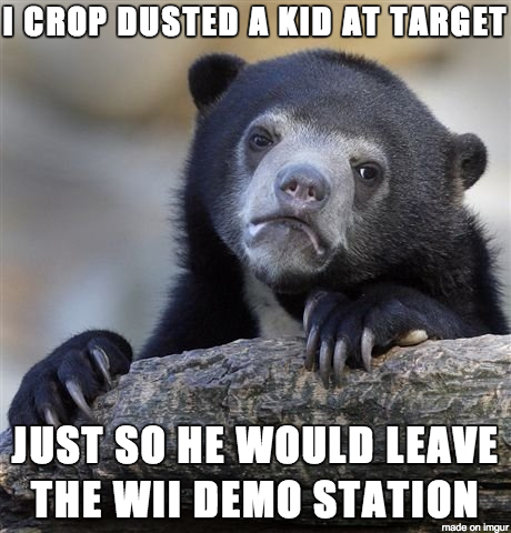 I really wanted to play the Donkey Kong demo while my girlfriend shopped