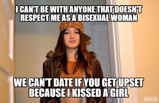 I tried explaining that it was the same as if I had kissed another woman