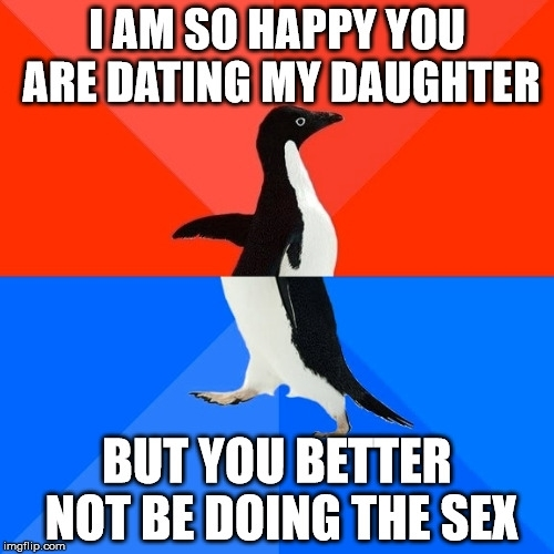 Funny dating daughter memes