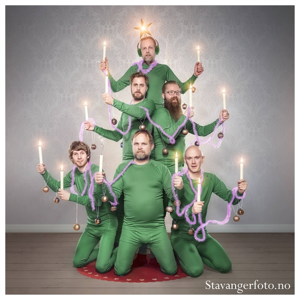 I work at a photography store in Norway This was our christmas card this year