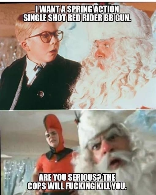 Christmas Story Meme.If A Christmas Story Was Set In This Decade Meme Guy