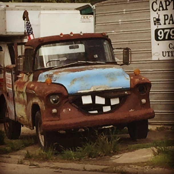 If Mater From Cars And Sloth From The Goonies Had A Love Child