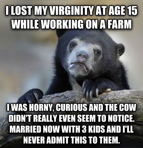 I lost my virginity with opinion