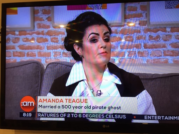 Irish Daytime TV I guess Pirate ghosts must be into Eyebrows