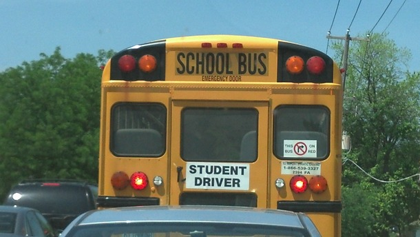 Funny Meme Bus : It appears there was a mutiny on this school bus meme guy