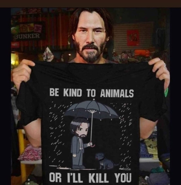 John Wick Motivation Meme Guy