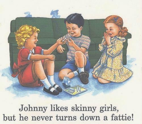 johnny likes skinny girls 44501 johnny likes skinny girls meme guy