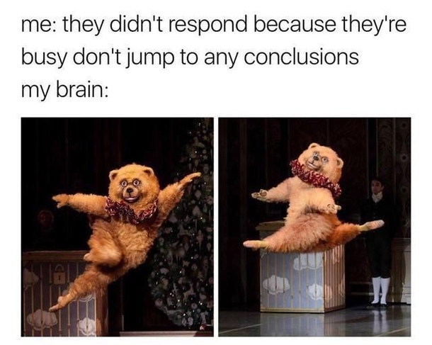 Jumping Into Conclusions Meme Guy