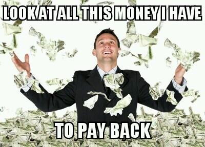 just got a student loan 125264 just got a student loan meme guy
