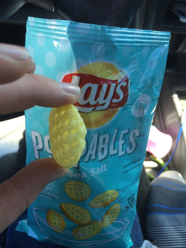 Lays has officially came up with a way to sell more air in their chip bags by making air filled chips And I fell for it