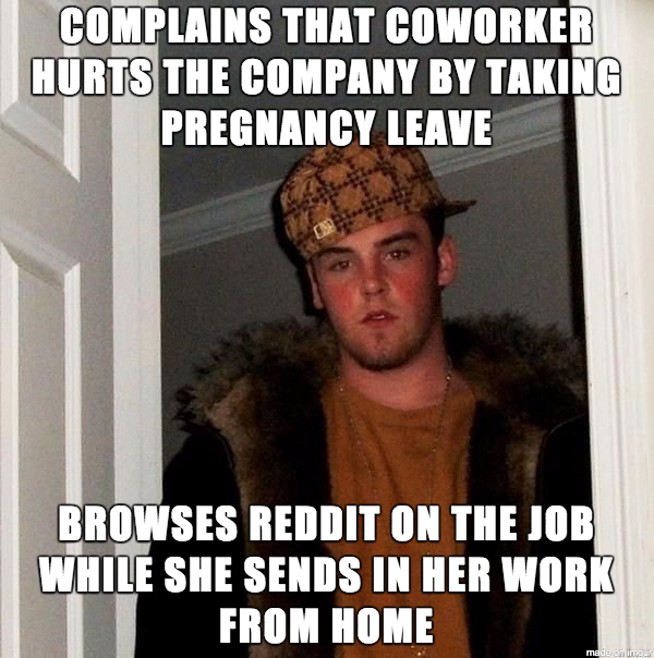 Lazy Coworker Doesnt See The Hypocrisy Meme Guy