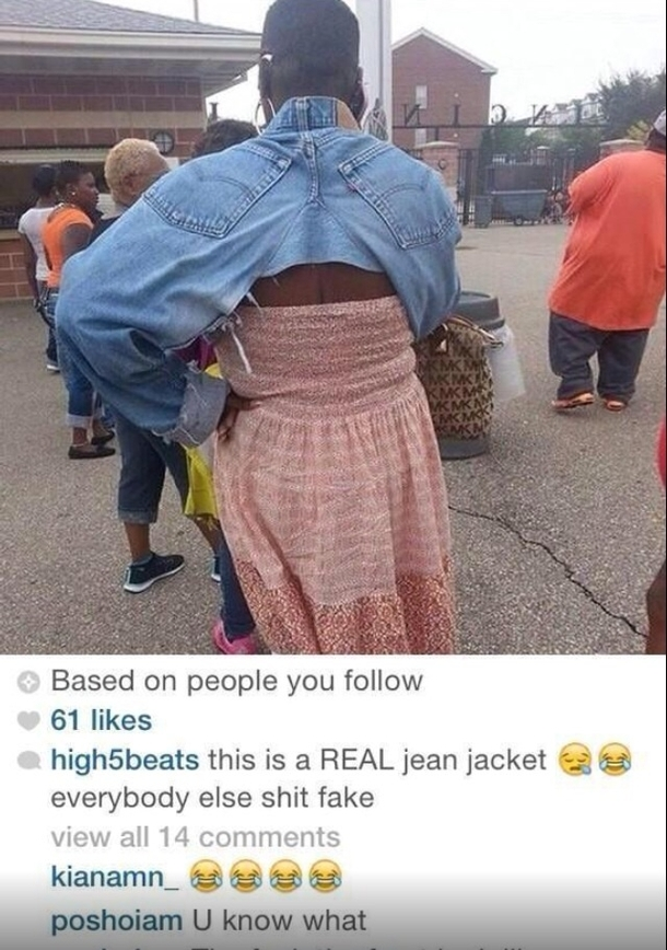 Legit jean jacket checks out