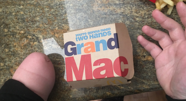 Lets all give a hand to McDonalds packaging designers