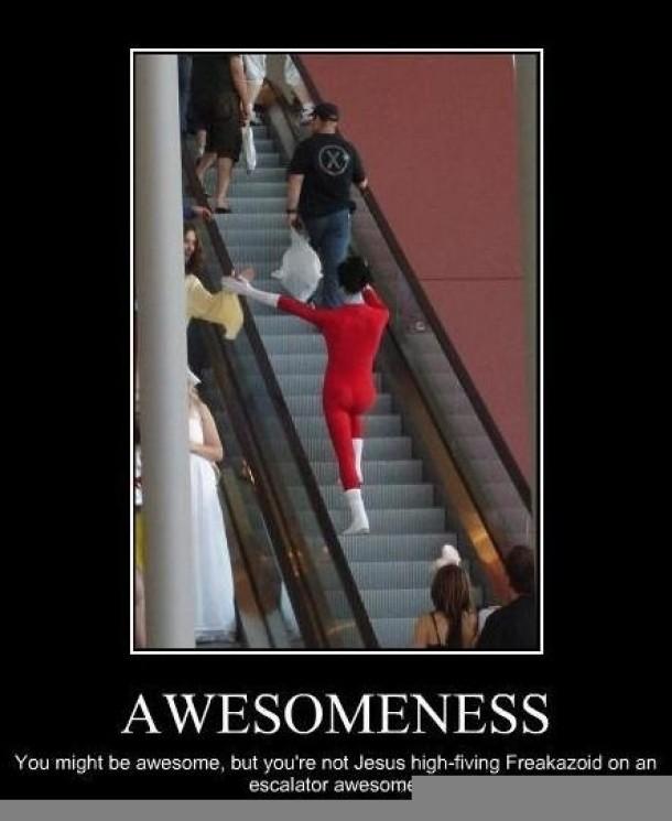 Level Of Awesomeness - Meme Guy  Level Of Awesom...