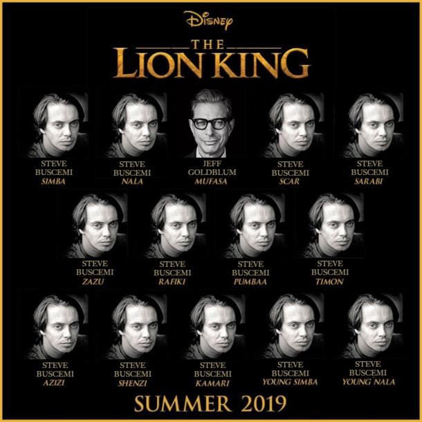 Lion King Cast Looks Phenomenal - Meme Guy