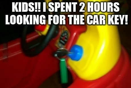 Lost Car Keys Meme Guy